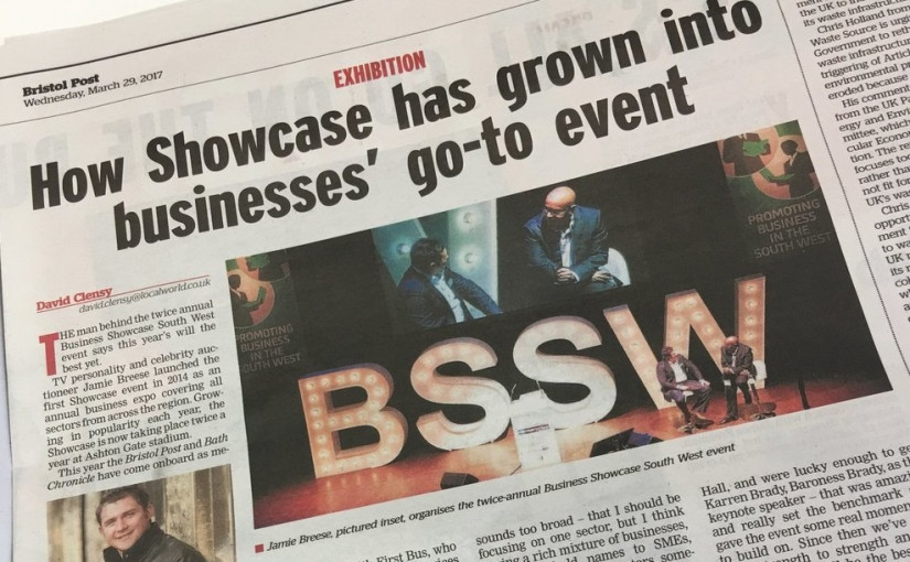 Soitron sponsors the Bristol Showcase Expo 2017